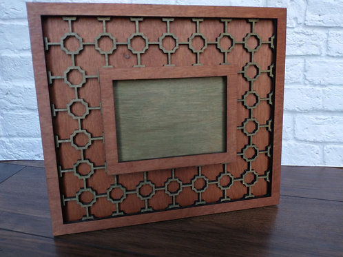 Photo Frame-Moroccan Tile
