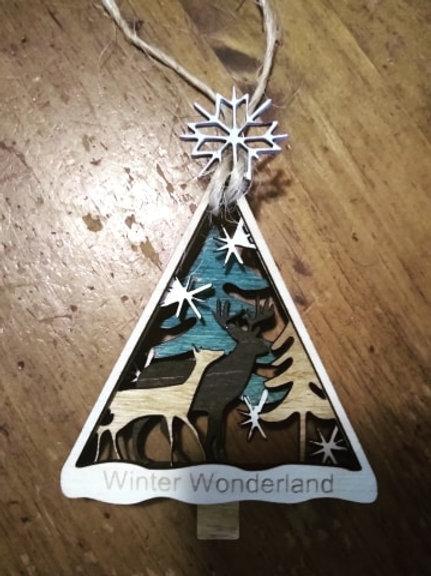 Woodland Ornaments-Customizable