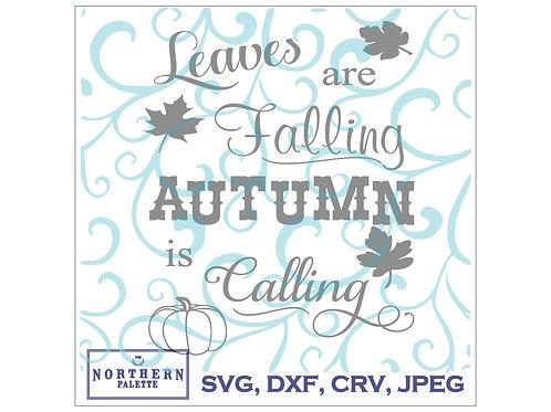 Autumn calling