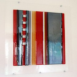 'Red n Silver' - Etude series -  Lydia H