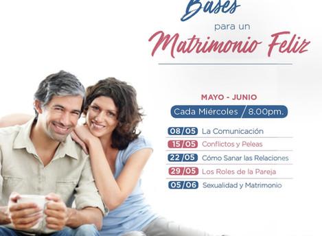 Talleres Semanales - Mayo y Junio 2019