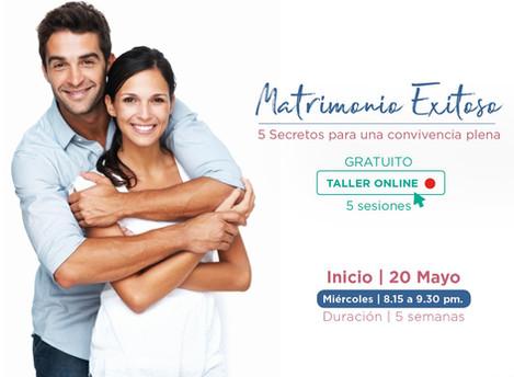 Taller Online Gratuito - Mayo y Junio 2020