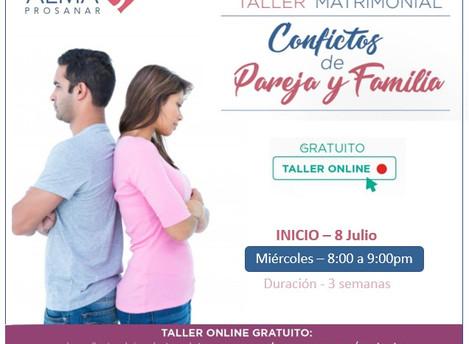Taller Online Gratuito - Julio 2020