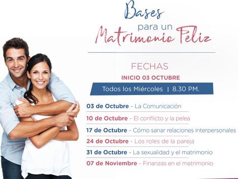 Talleres Semanales - Oct. y Nov. 2018