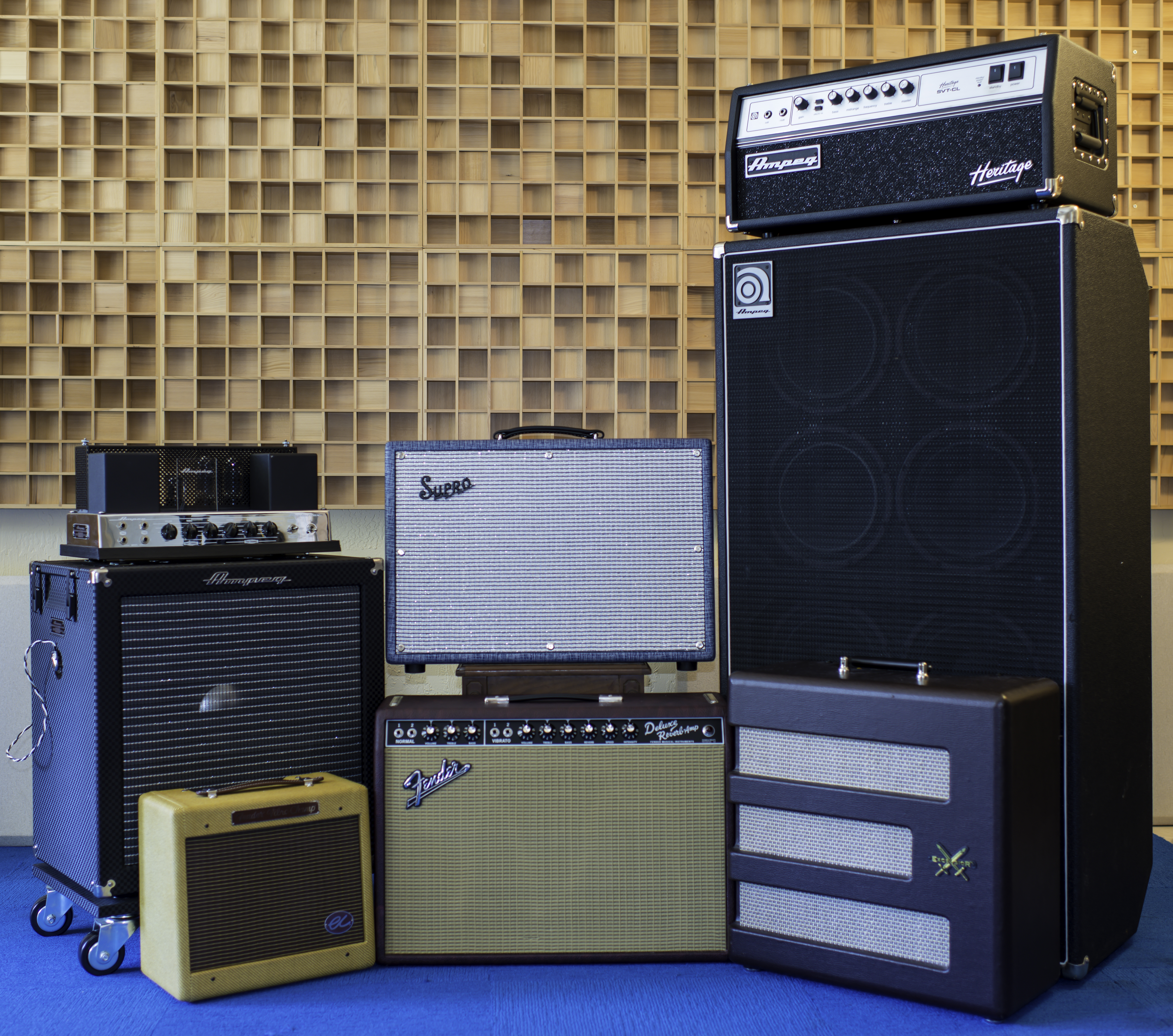 Electric Air Studios - Photos - Amps-1