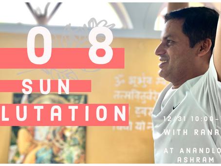 108回太陽礼拝  Ranafrom アナンダロック・アシュラム (リシケシ)