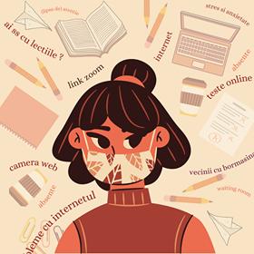 Școala online sau școala fizic, dar cu mască? - Ce preferă elevii?