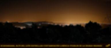 Panoramica-nocturna desde alto del leon-