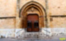 Puerta gotica concatedral-Plaza Hierba-W