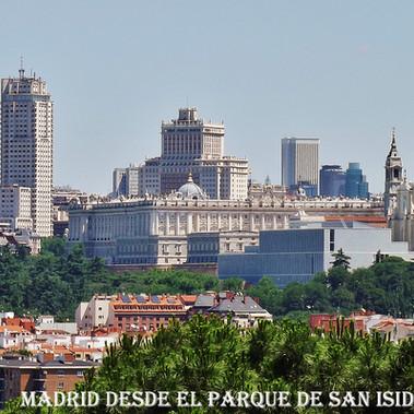 Madrid desde el parque de San Isidro-WEB