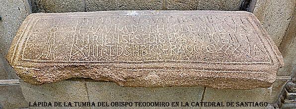 Tumba de teodomiro en la Catedral de San