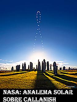 Analema solar sobre Callanish-WEB