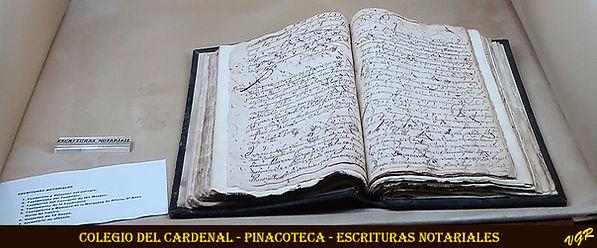 Escolapios-Pinacoteca-Escrituras Notaria
