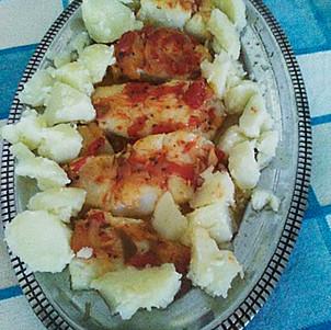 Bacalao al horno con patatas cocidas-WEB