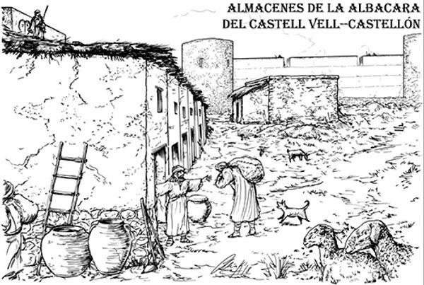 Castell Vell-Almacenes de la Albacara-WE