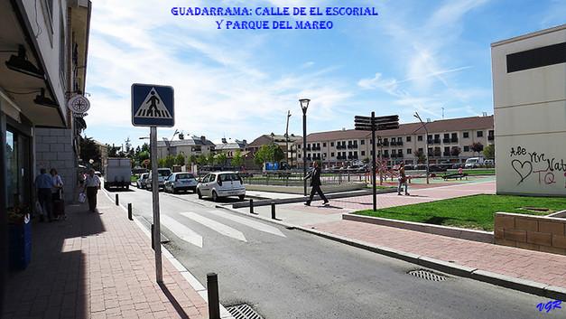 Calle  de El Escorial y Parque del mareo