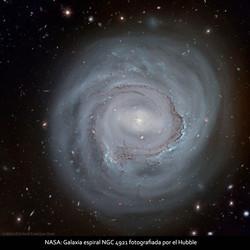 NASA-Galaxia espiral NGC 4921