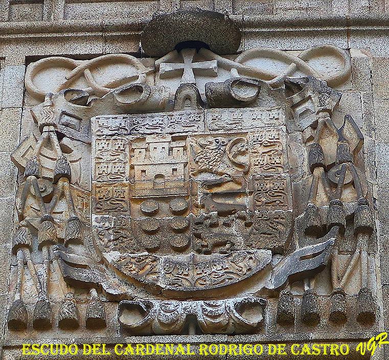 Escudo del cardenal Rodrigo de castro-WE