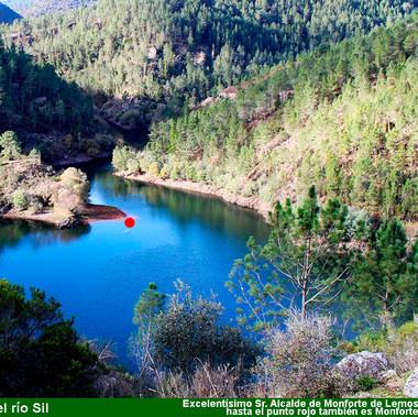 Desembocadura Rio San Xoan en el Sil-WEB