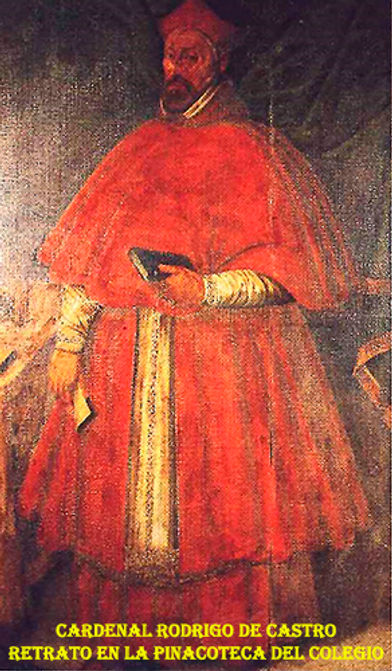 Retrato del cardenal en la pinacoteca-WE