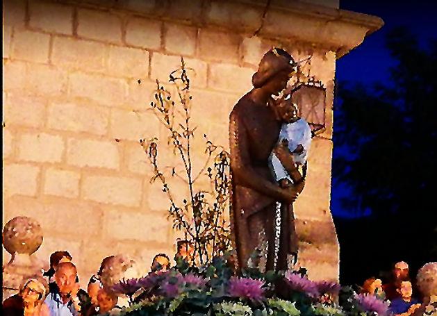 Virgen Jarosa en Iglesia San Miguel-WEB.