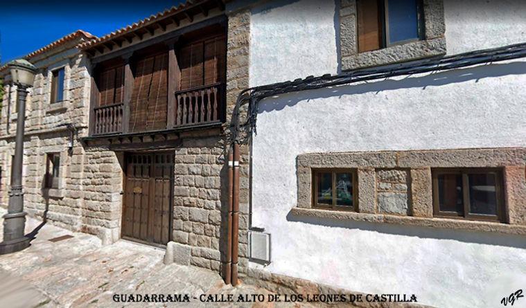 Calle Alto de los Leones de Castilla-WEB