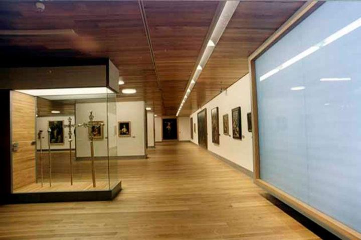 Museo bellas artes-Planta dedicada a bel