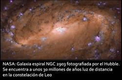 NASA-Galaxia espiral NGC 2903
