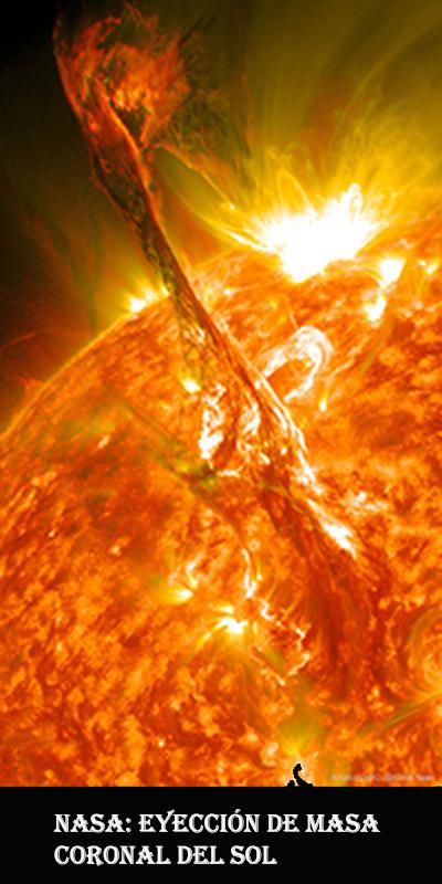 Sol-eyeccion de masa coronal