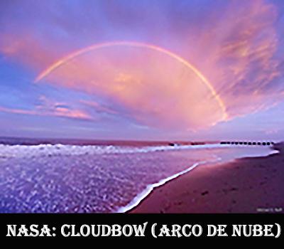 Cloudbow-arco de nube- rojo
