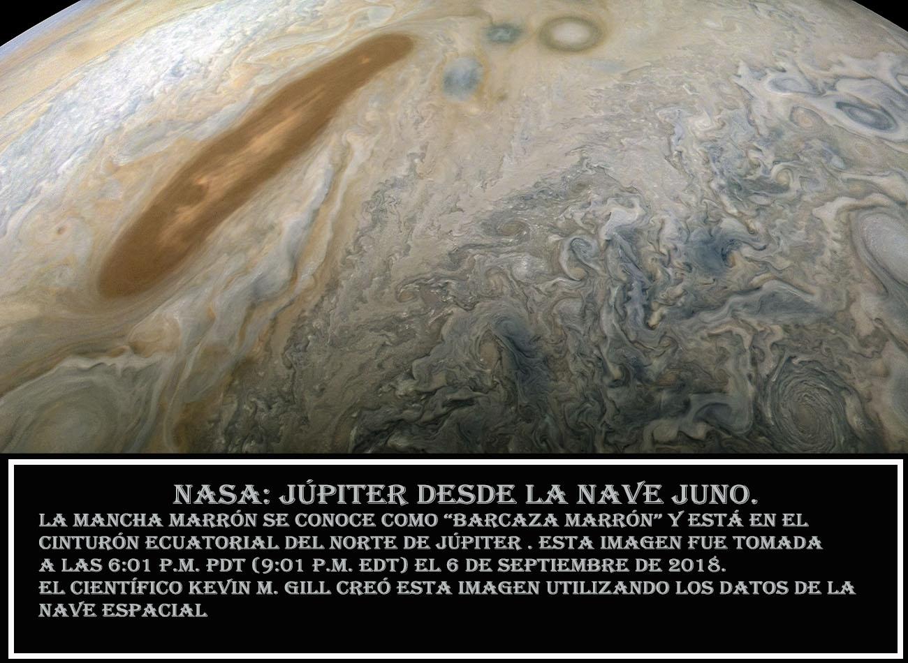 NASA-Jupiter desde la nave JUNO-4