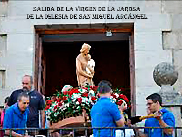 Salida de la virgen de San Miguel Arcang