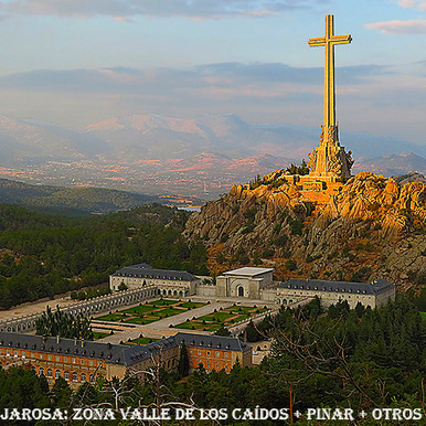 Vista general Jarosa desde Valle Caidos-