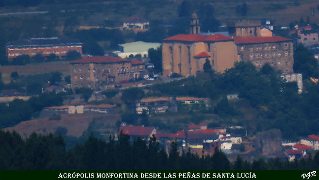 Acropolis Monfortina desde Peñas Santa L