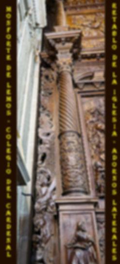 Escolapios-espacio entre las columnas y