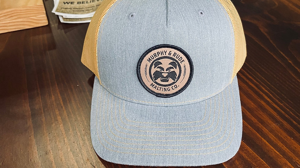 Woven Patch Hat