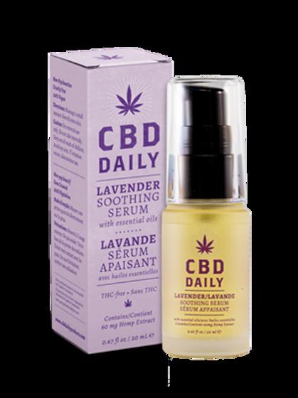 CBD Daily Lavender Smoothing Serum