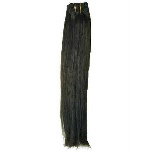 Simpli Hair Natural Black Clip-In Extensions