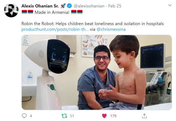 Robin the Robot on Product Hunt
