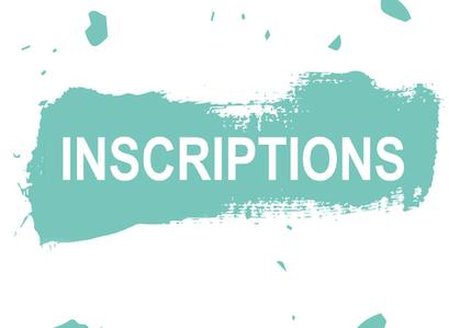 Bulletins d'Inscriptions 2020/21 disponibles