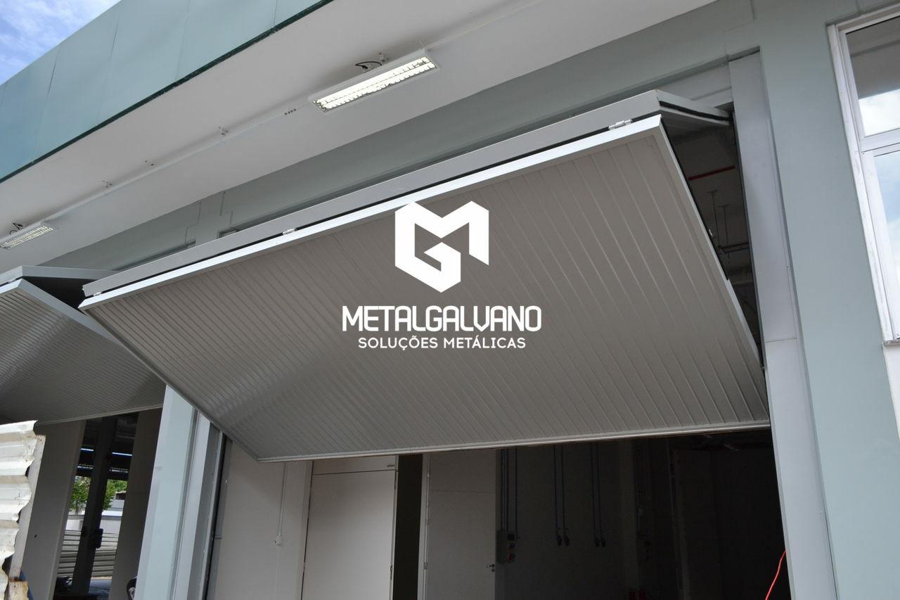 portao de garagem metalgalvano