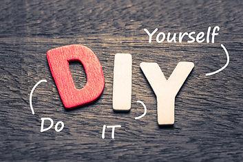Buchstaben DIY (Do it yourself)