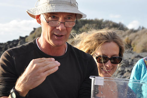 Meeresbiologe Volker Boehlke