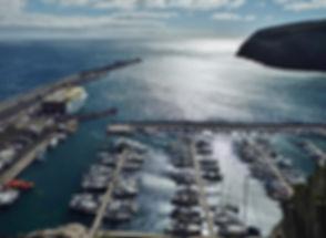 Der Hafen in San Sebastian de La Gomera