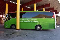 Der Bus von La Gomera