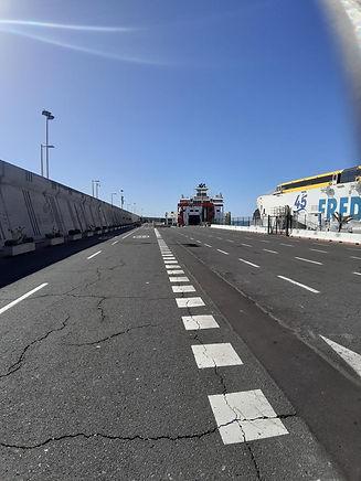 Hafen San Sebastian La Gomera