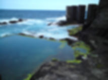 Meeres-Schwimmbecken in Hermigua