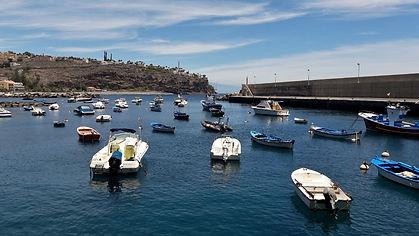 Der Hafen in Playa Santiago La Gomera