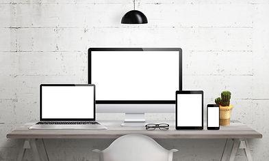 laptop, pc und tablet