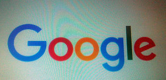 Screenshot von Google Logo